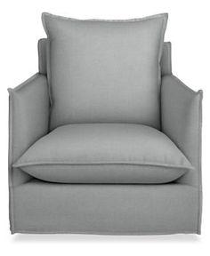 T.V. room -Brisbane Swivel Chair - Chairs & Ottomans - Room & Board
