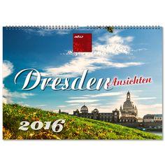 """Dresden ist mehr als die """"barocke"""" Hauptstadt Sachsens. Die Stadt an der Elbe fasziniert sowohl durch ihre historischen Bauwerke, wie die weltberühmte Semperoper, die Frauenkirche, das Stadtschloss, den Dresdner Zwinger, Elbschlösser und barocke Parkanlagen als auch durch eine lebendige Kulturlandschaft und Schönheit des Elbtals.  Kalender Dresden - © ImBild Verlag"""