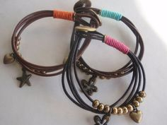 Summer bracelets by silviajordao on Etsy