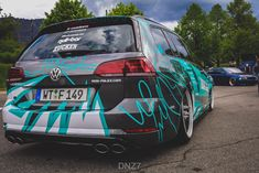 HOW DEEP? Volkswagen Golf R Wagon | DESIGN ATELIER TTSTUDIO