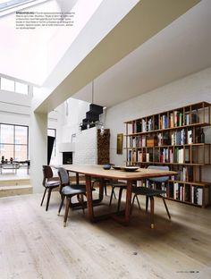 minimalist loft in Tribeca