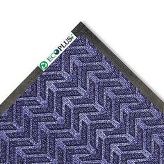 Crown - EcoPlus Mat, 3 x 5, Midnight Blue - Sold As 1 Each - Reinforced nitrile/rubber backing delivers excellent performance in heavy traffic areas. by Crown Products. $90.99. Crown - EcoPlus Mat, 3 x 5, Midnight BlueHelp preserve the environment with this P.E.T. fiber surface wiper mat. Reinforced nitrile/rubber backing delivers excellent performance in heavy traffic areas. Raised rubber edging retains water and dirt, eliminating run-off problems. Crush-resistant rei...