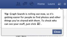 Facebook rolling out Graph Search to more and more users, Facebook expanding Graph Search.