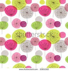 Vintage Flower Pattern Background Vector Art Free vector in Encapsulated PostScript eps ( .eps ) format format for free download 1.39MB