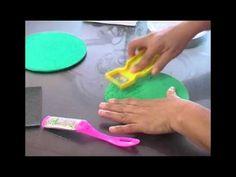 ¿Cómo hacer texturas diferentes en foamy? 3/3 - Artículos sobre manualidades en foamy