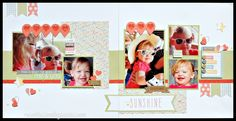 layout by Brenda Rose using CTMH Zoe paper