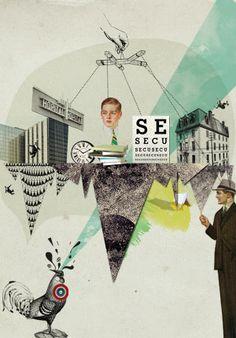 illustration « Pauline Schleimer • Art direction • Illustration