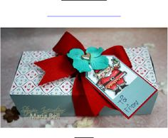 2.5x5.5 Gift Box tutorial