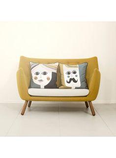 das ferm living kissen mrs cushion aus seide passt perfekt - Fantastisch Tolles Dekoration Ferm Living Korb