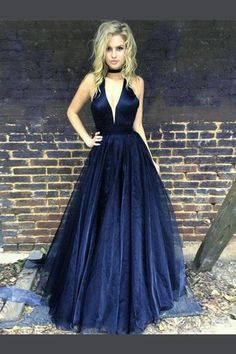 Yesbabyonline store offers hundreds of cheap black prom dresses 2019 with Sleeveless. If you want to shop a black prom gown, look at here! Cheap Black Prom Dresses, Navy Blue Prom Dresses, Cheap Homecoming Dresses, Blue Evening Dresses, V Neck Prom Dresses, Tulle Prom Dress, Sheer Dress, Evening Gowns, Evening Party