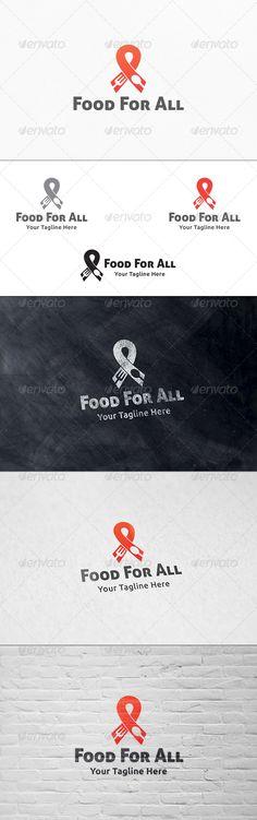 Food & Charity - Logo Template