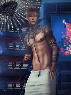 ***  Kosmii - Cyber Wagasa  ( at NEO-Japan SL / April '18 )  Dura - Anime*06( at NEO-Japan SL / April '18 )  Gabriel - Arhat Necklace Light wood( at NEO-Japan SL / April '18 )  CheerNo - S/S18 LongSkirt Clear( at NEO-Japan SL / April '18 )  Stray Dog - Hiro - Tone 03 w/o Brows( at NEO-Japan SL / April '18 )  ***   Chained Deceit (Onyx)( L'Homme Gift February '18 Issue )  Kunst - Threaded C   #[cx] #AGAPEE #cheerno #CigaretteHolder #Dura #Fash