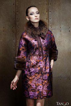 Зимнее пальто ODRI на заказ по вашим размерам в Танго Мехов.