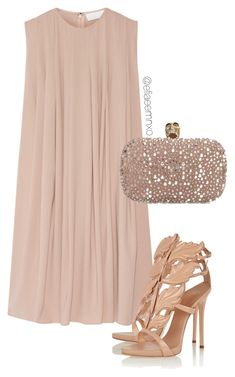 """""""Nude"""" by efiaeemnxo ❤ liked on Polyvore featuring CO, Giuseppe Zanotti and Alexander McQueen"""