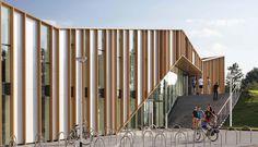 Hollanda'da yapılan kültür merkezi geniş bir kullanıcı profiline hitap ediyor.