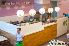 bubble tea shop bar counter setup - Google Search