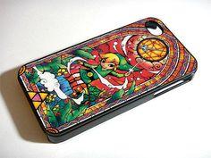 Legend of Zelda  iPhone 4 Case iPhone 4s Case by Obatrangsang, $14.99