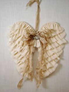 PDF Fabric Angel Wings NO SEW Tutorial no shipping by sewmanyroses, $6.00