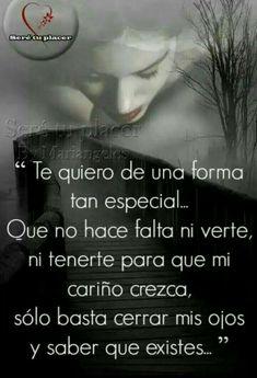 Spanish Quotes Love, Spanish Inspirational Quotes, Love Poems, Love Quotes For Him, Amor Quotes, True Quotes, Mistress Quotes, Love Qutoes, Frases Love