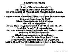 Rock And Roll Wedding Vows Download Printable Funny Poem Short Marriage Digital Print Rhyming
