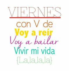 ¡Viernes al fin! :D #1001consejos #viernes #happy