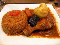 Tiep poulet Oyster Mushroom Recipe, Mushroom Recipes, Senegalese Recipe, Fried Chicken Dinner, Drink Recipe Book, Good Food, Yummy Food, Nigerian Food, Great Appetizers