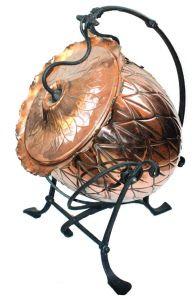 Christopher Dresser for Benham and Froud Ltd, a Botanic Coal Scuttle late 19thC