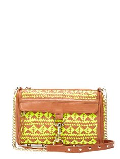 M.A.C Woven Clutch by Rebecca Minkoff on Gilt.com