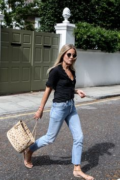 The Coolest Raw-Hem Jeans of the Moment