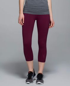 Run  Inspire Crop II Athletic Outfits, Feel Good, Shop Lululemon, Xmas 2015 d7e479974b79