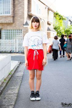 Kaya, 18 years old, student   2 September 2016   #Fashion #Harajuku (原宿)…