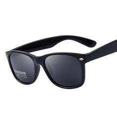 2fb7cd7922 POLARIZED UNISEX 80 S RETRO CLASSIC TRENDY STYLISH SUNGLASSES -  thisworldis4u Men s Sunglasses