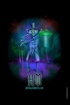 Hat Box Ghost by Topher Adam Art Print