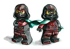 Lego Ninjago Time Twins Krux and Acronix Ninjago Hands Of Time, Ninjago Season 7, Lego Knights, Treasure Planet, Season 12, Silver Dragon, Little Monkeys, Lego Movie, Lego Ninjago