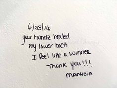 "Testimonial: Marticia Foster - http://healinghandz.com/portfolio-view/testimonial-marticia-foster/?Pinterest ""Your handz healed my lower back. I feel like a winner. Thank You!!!. - Marticia Foster"""