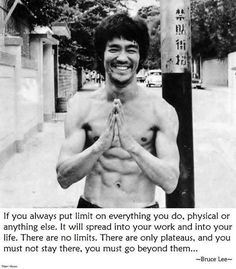 Limits - by Bruce Lee by CDS Nutrition™, via Flickr