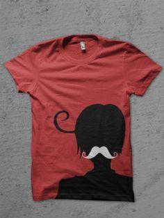 Hetalia shirt Romano mustache NEED