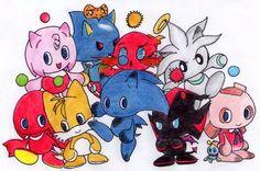 Sonic Chaos (so cute )