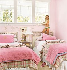 Check out our clever pink kids rooms. Take an additional 10% with coupon Pin60 at www.CreativeBabyBedding.com
