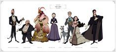 Phantom of the Opera — Celine Kim Character Concept, Character Art, Concept Art, Character Design, Broadway Theatre, Musical Theatre, Musicals Broadway, Fantom Of The Opera, Geeks