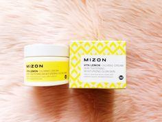 Mizon Vita Lemon Calming Cream Review - makeupkeith