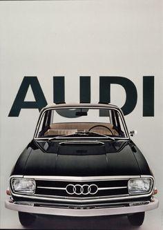 Audi, 1965  Design: Gerstner, Gredinger + Kutter, Werbeagentur AG,