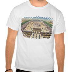 View of the Champs de Mars, 14th July 1790 Tee T Shirt, Hoodie Sweatshirt