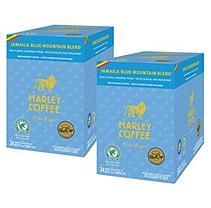 Marley Coffee Jamaica Blue Mountain Blend, Single Serve RealCup (48 ct)