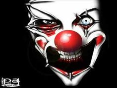 Evil Clown - Horror World Wallpaper - Fanpop fanclubs Clown Photos, Clown Images, Freaky Clowns, Evil Clowns, Creepy Circus, Real Madrid, Delphine Lalaurie, Gruseliger Clown, Pierrot