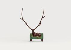 Zhang Yong, 'The Lost Deer', bronze, edition: 99, 17 cm (H).