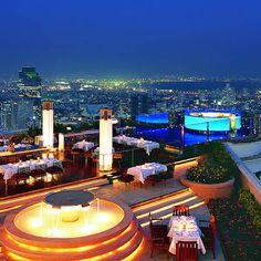 Sky Bar - Hotel Lebua, Bangkok.