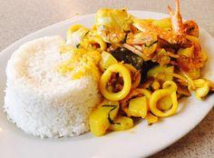 Sabrosa receta: cau cau de mariscos  Todo apasionado de la gastronomía peruana conoce el tradicional cau cau de mondonguito. Hoy, les prop... #blog gastronómico de Cesar Hinojosa Quiroz