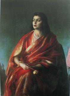 Gayatri Devi of Jaipur , Pietro Annigoni