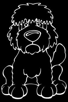 Do you love your Goldendoodle? Then a dog decal from Decal Dogs is what you need to celebrate your best friend. Every Dog Has Its Decal! The decal measures 4 in. x 6 in. and can be applied to most smo